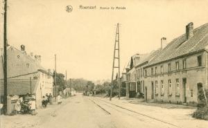 rixensart,avenue de merode,ligne vicinale