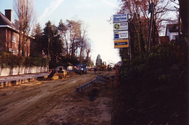Avenue de Merode aménagements de 1994 © Michel Nauwelaers