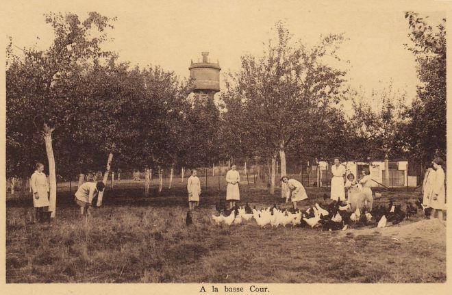 C1 Institut Médico-pédagogique Sainte-Elisabeth châtau d'eau du Plagniau coll. Jean-Louis Lebrun