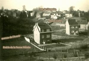 80.1B. Froidmont vue de la rue de Limal 25 après 1957 Collection  Jean-Claude Renier
