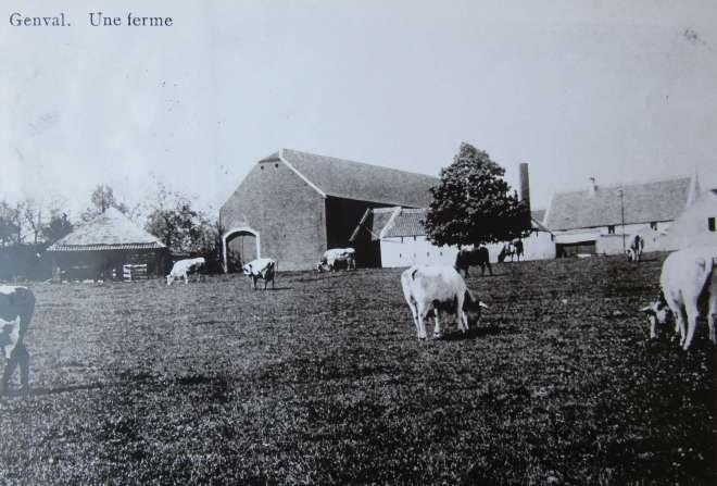 1 Ferme Stouffs 1912 c CHR (carte postale éditée par J.B. Vanderbeck Mosray Genval) (1)