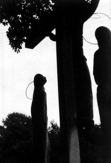 Calvaire avenue de Merode (La Vallée de la Lasne concours photo 1970 Van Parys Louise) AV5 © SI Rixensart