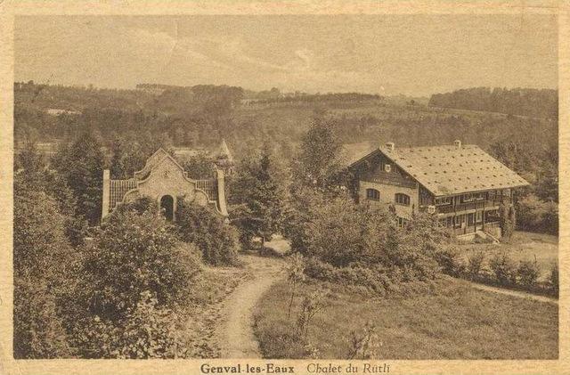 Chalet du Rütli à Genval-les-Eaux