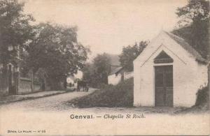 genval,chapelles,place communale