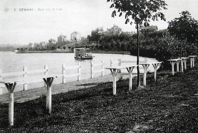 152. Vue sur le lac Collection Cercle d'Histoire de Rixensart