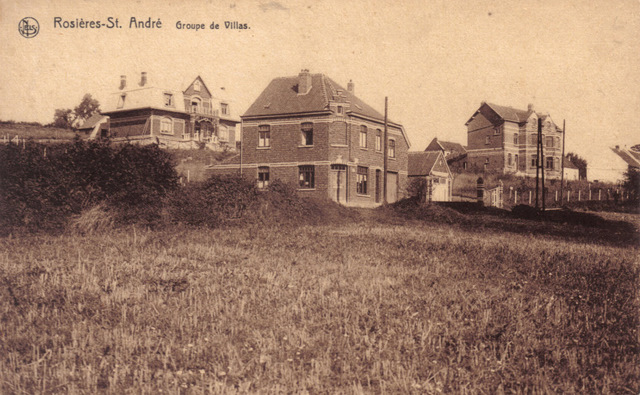 Groupe de villas à Rosières St. André Collection Michel Delabye