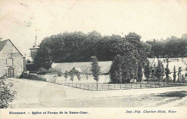 Eglise et Ferme de la Basse-Cour Château de Rixensart