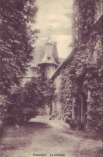 1910 Château de Rixensart Tour-porche