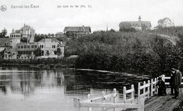 161. Un coin du lac Collection Cercle d'Histoire de Rixensart