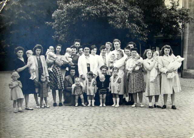 1950 Consultation des Nourrissons de Genval Collection Cercle d'Histoire de Rixensart