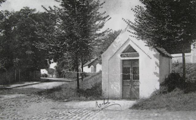 Chapelle Saint-Roch 1905 Collection Cercle d'Histoire de Rixensart