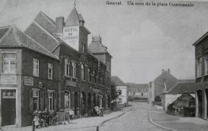 genval,horeca,place communale