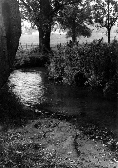 Genval-Bourgeois (La Vallée de la Lasne concours photo 1970 Besangez Daniel) © SI Rixensart