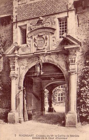 rixensart,château de rixensart,spinola