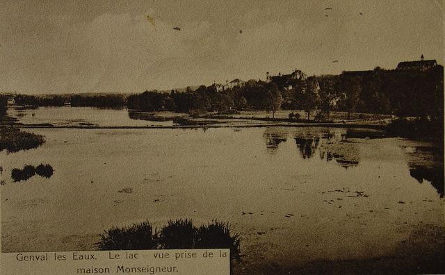 Le lac prise de la Maison du Seigneur Collection Philippe Godin