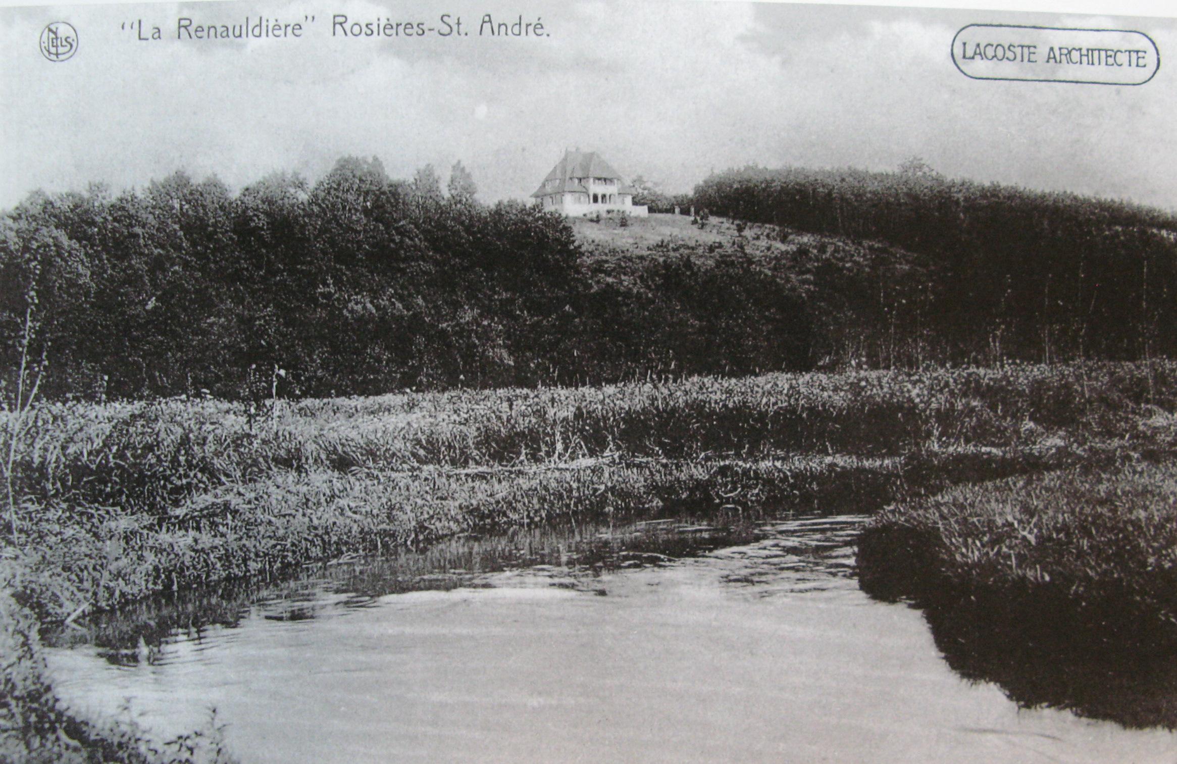254. La Renauldière à Rosières Collection Cercle d'Histoire de Rixensart