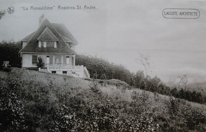 254B. La Renauldière à Rosières Collection Cercle d'Histoire de Rixensart