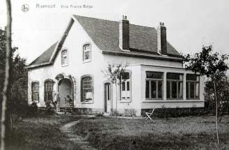 264. Villa Franco Belge avenue du Rond-Point à Rixensart Collection Cercle d'Histoire de Rixensart