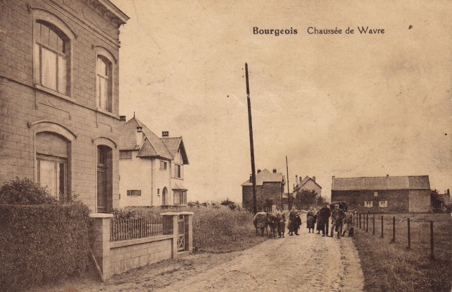 269 Chaussée de Wavre Bourgeois coll. Jean-Louis Lebrun