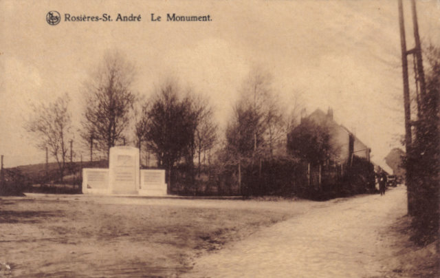Le Monument Rosières St. André Collection Michel Delabye