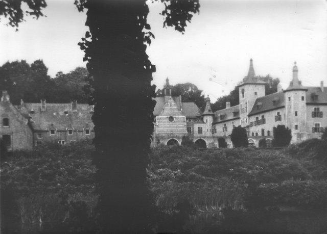 Château de Rixensart (La Vallée de la Lasne concours photo 1970 Van Parys Louise) AV1 © SI Rixensart