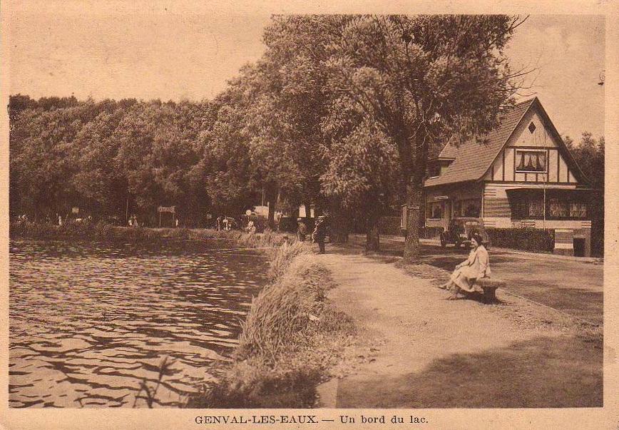 Chalet Normand lac de Genval