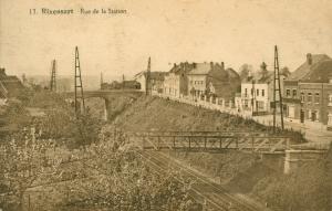 rixensart,ligne vicinale,rue de la station,pont du vicinal,ligne 161,pont boisacq