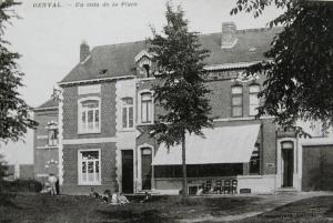 genval,place communale,horeca,1914-1918