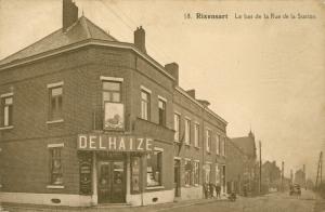 Rue de la Gare Rixensart 1929 Delhaize c JCR Martin.jpg