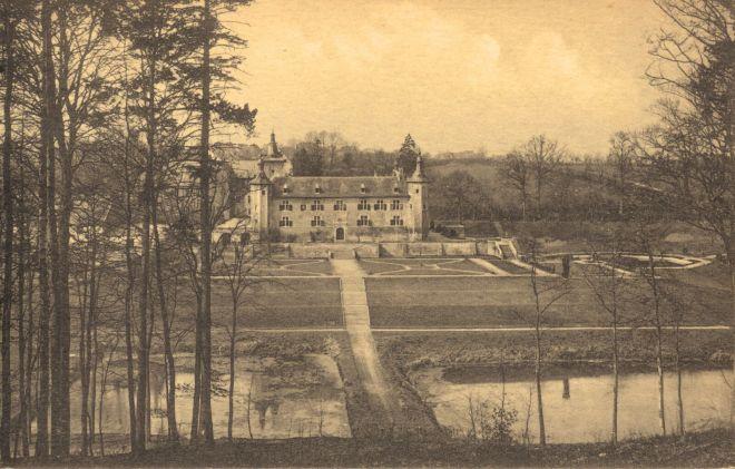 1264. Château du Prince Félix de Merode vu du carrefour de l'Etoile coll. JCR BOU