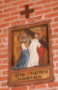 H10. Chemin de Croix polychrome de Rodolphe Staege Eglise Saint Pierre © Monique D'haeyere.JPG