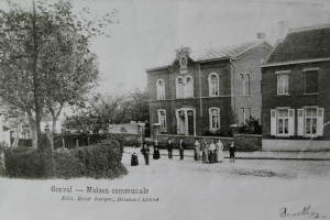 genval,place communale