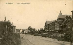 ligne vicinale,route de bourgeois,rixensart,merode