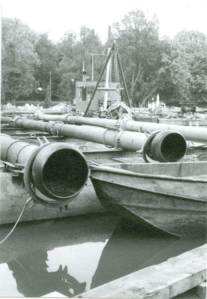 496B. Curetage du lac de Genval 19740707 © Jean-Claude Renier-1