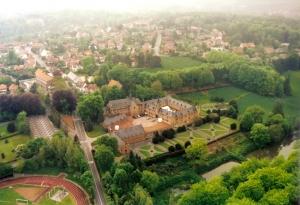 rixensart,vue aérienne,château de rixensart