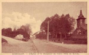 518. Monument Comte Felix de Merode Rue de l'Eglise 1936 c Francis Broche.jpg