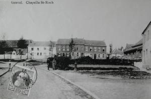 genval,place communale,chapelles