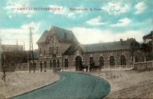 genval,gare de genval,1914-1918