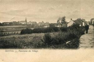 Panorama du Village (vue prise depuis l'avenue Gevaert) Collection Cercle d'Histoire de Rixensart.jpg