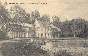 genval,lac de genval,maison du seigneur,horeca