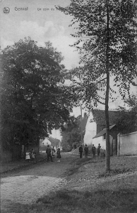 763. Un coin du village 1910 Collection Cercle d'Histoire de Rixensart (67).jpg