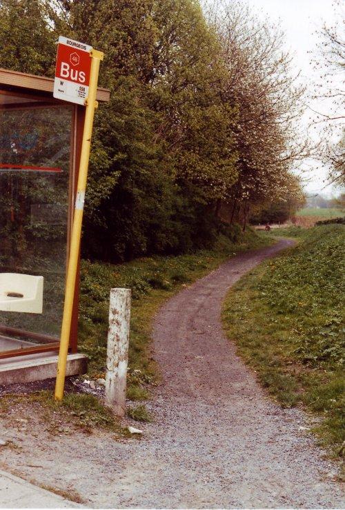 764B. Voie du Tram 19890414 © Jean-Claude Renier.1963 © Jean-Claude Renier-6