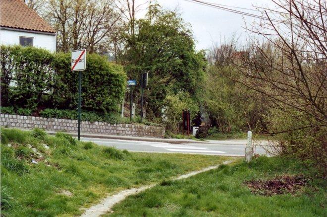 919. Voie du Tram 14 avril 1989 chaussée de Lasne © Jean-Claude Renier