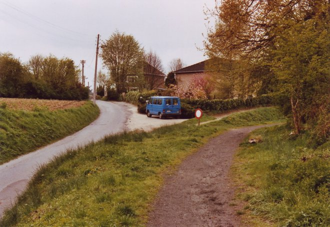 Voie du Tram 19890414 © Jean-Claude Renier.1963 © Jean-Claude Renier-4