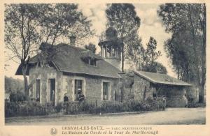 genval,lac de genval,maison du garde,tour marlborough