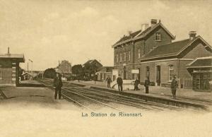 821. La Station de Rixensart 1903 c Jean-Claude Renier.jpg