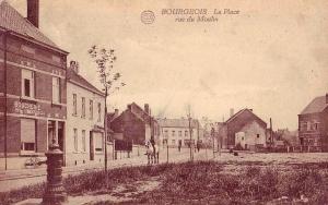 Place Cardinal Mercier vers rue St Roch (rue du Moulin) c Monique D'haeyere.jpg