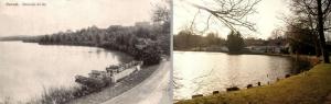 genval,lac de genval,canotage,embarcadère,1914-1918