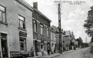 La Rue Neuve vers la Place Collection Cercle d'Histoire de Rixensart.jpg