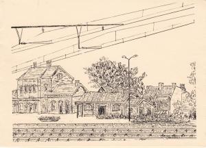 1029. Gare de Rixensart dessinée par Narcisse Poplimont c Anne-Marie Delvaux.jpg